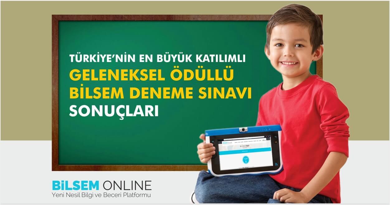 Türkiye Geneli Ücretsiz Bilsem Deneme Sınavı Sonuçları