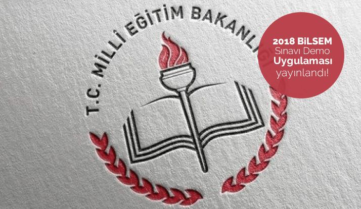 MEB 2018 Bilsem Sınavı Demo Uygulaması Yayınlandı!